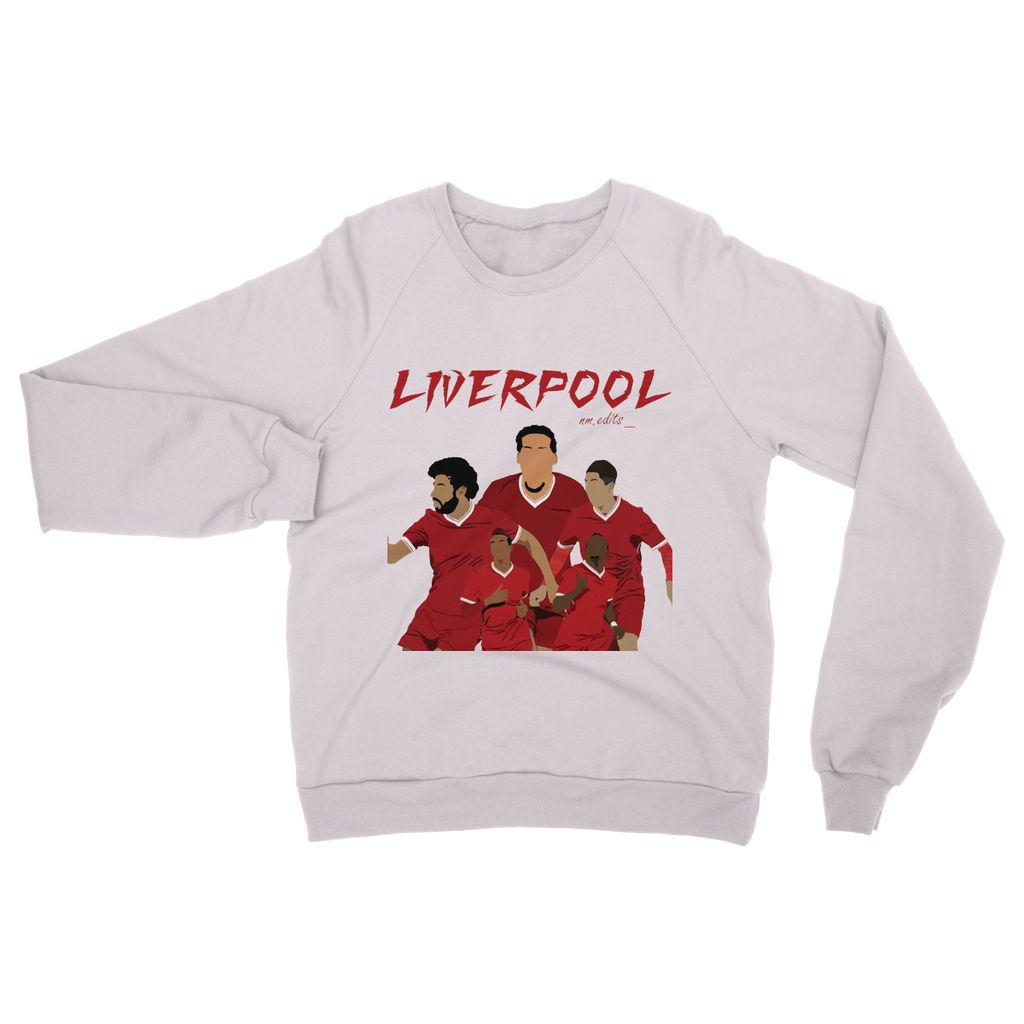 Liverpool Heavy Blend Crew Neck Sweatshirt