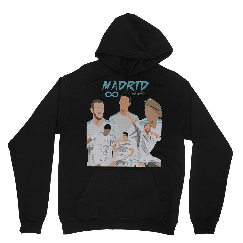 Real Madrid Heavy Blend Hooded Sweatshirt