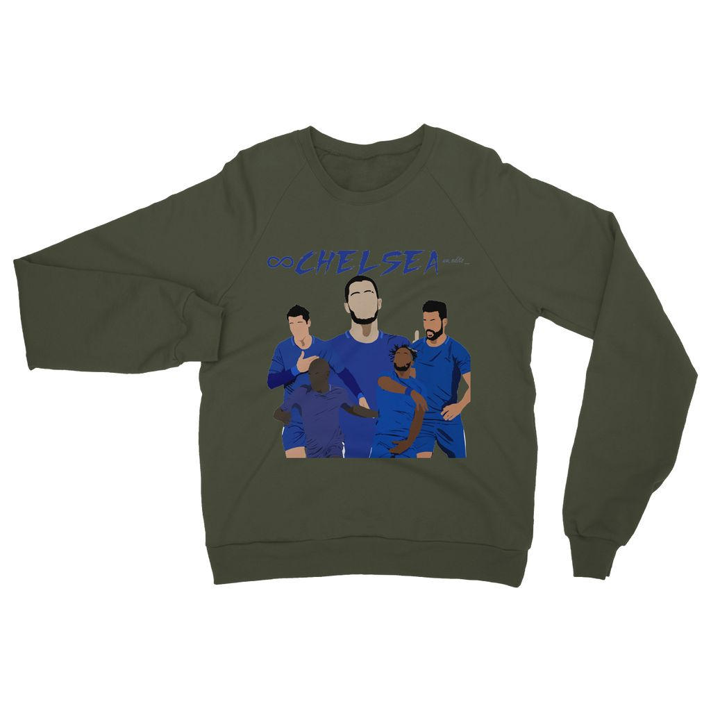 Chelsea Heavy Blend Crew Neck Sweatshirt