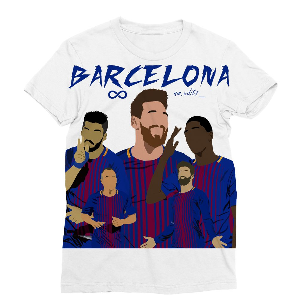 Barcelona Sublimation T-Shirt