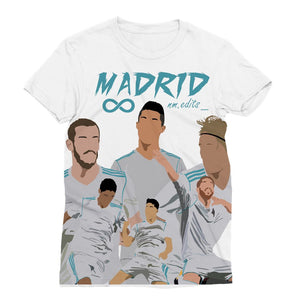 Real Madrid Sublimation T-Shirt