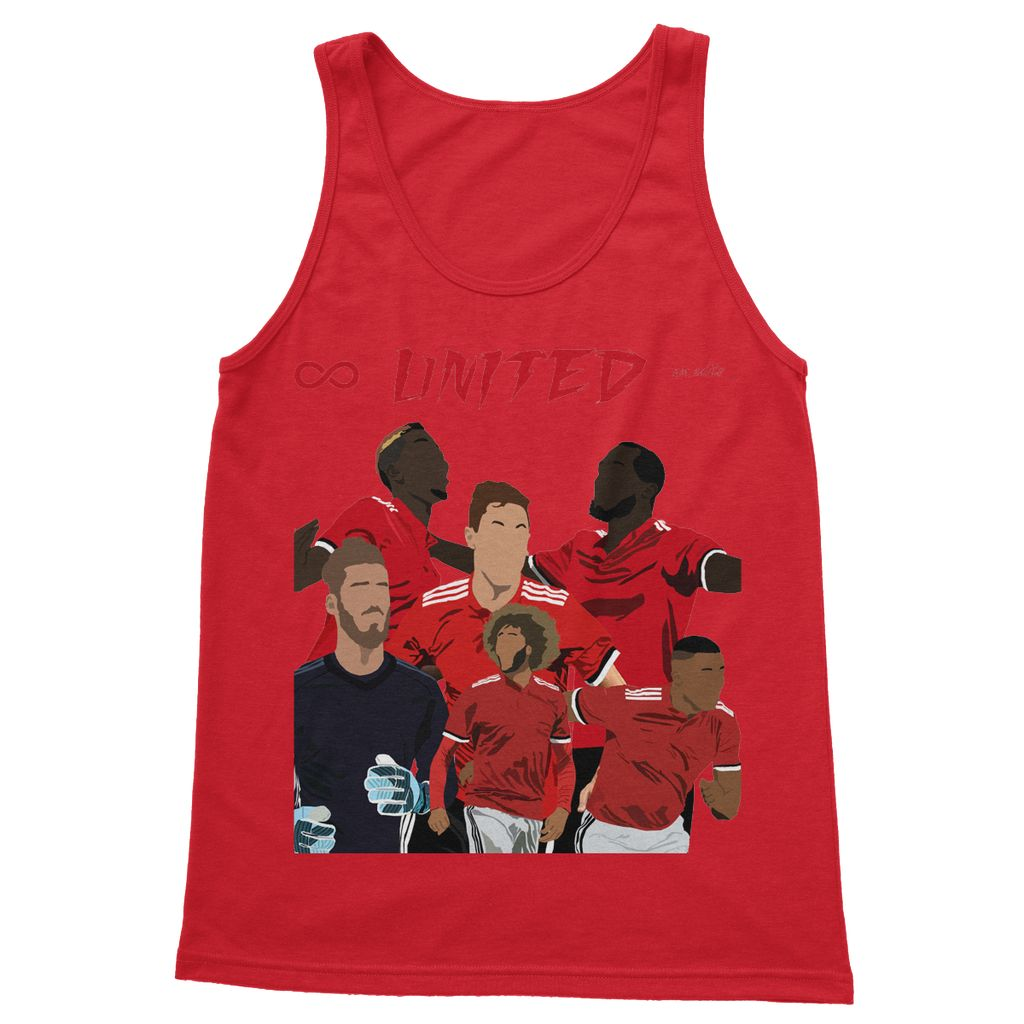 Man Utd Softstyle Tank Top