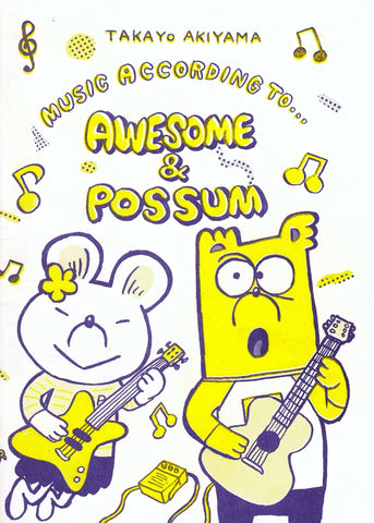MUSIC ACCORDING TO AWESOME & POSSUM - No Ordinary Heroes