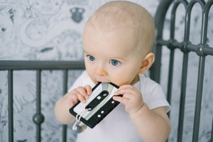 Cassette Mix Tape || Clip on Teether