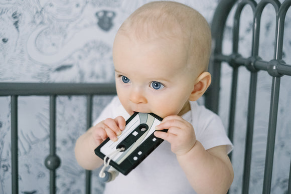 Cassette Tape || Clip on Teether