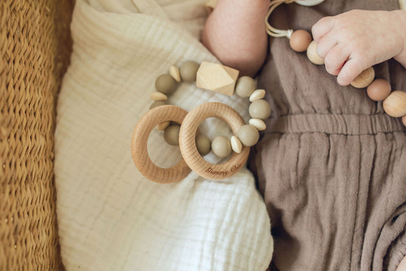 Fall || Modern Teether  Rattle