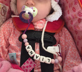 Customized  Pacifier Clip