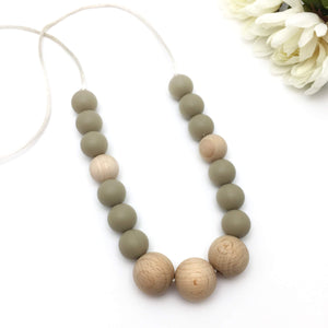 The Monaco - Silicone Teething Necklace for Mom