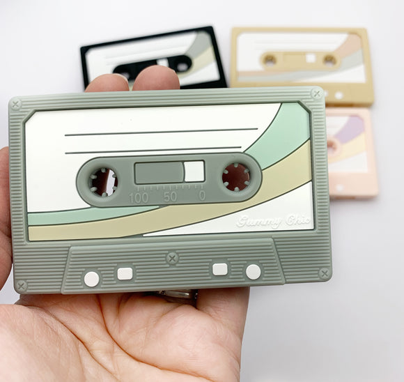Exclusive Cassette Mix Tape Teether