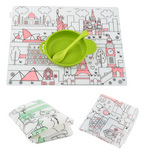 Silicone Coloring Mat - Washable
