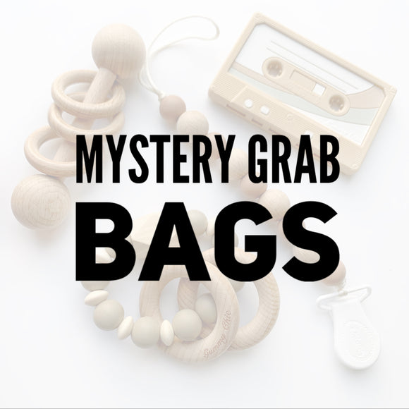 TWO Teethers Mystery Grab Bags