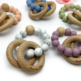 Minimal || Wooden Teether Rattle