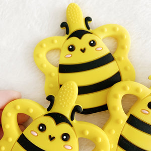 Bee Teether and Baby Toothbrush