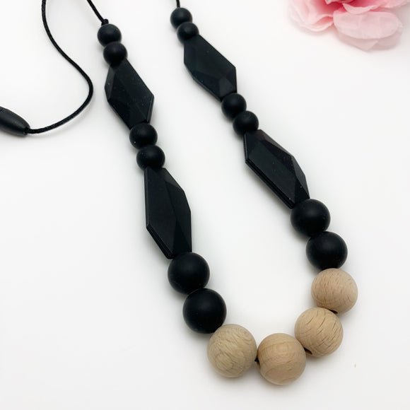 The Milan - Silicone Teething Necklace for Mom
