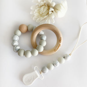 Calm || Teether Ring Rattle