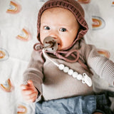 Gender Neutral Baby Set || Teether Ring Rattle