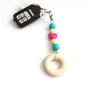 Personalized Silicone Keychains - Sensory Zipper Pull