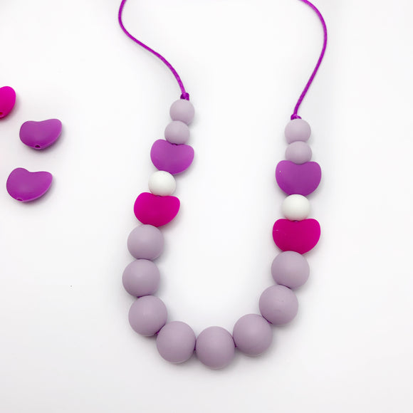 Valentines Edition Silicone Necklace - Sensory Jewelry