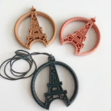 Paris tower teether, Eiffel Tower silicone necklace