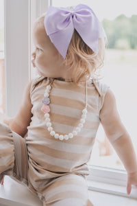 Flower Silicone Teething Necklace - Sensory Jewelry
