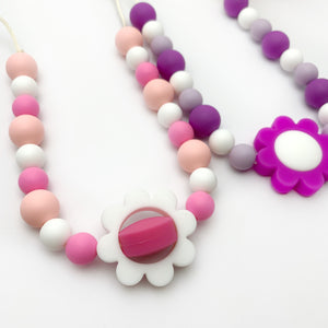 Fidget Flower Necklace
