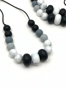 The Brugge  - Silicone Teething Necklace for Mom - Nursing Necklace