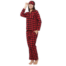 Beetle Bug Flannel PJ Set - Women's - Catnap luxury loungewear