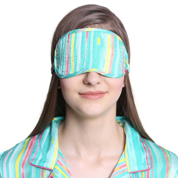 Buy silk eye mask from Catnap sleepwear and loungewear