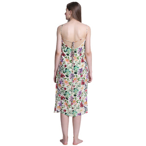 Flower Power - Slip dress - Catnap luxury loungewear