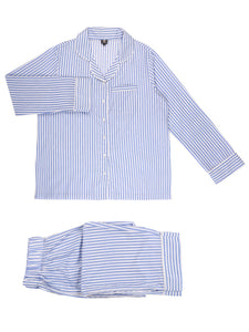 Blue stripe Full sleeve PJ Set