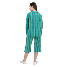 Indigo - Cotton Stripes - Catnap luxury loungewear
