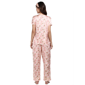 Vintage Blossom - V-Neck Top and Full Pajama Bottoms - Catnap luxury loungewear