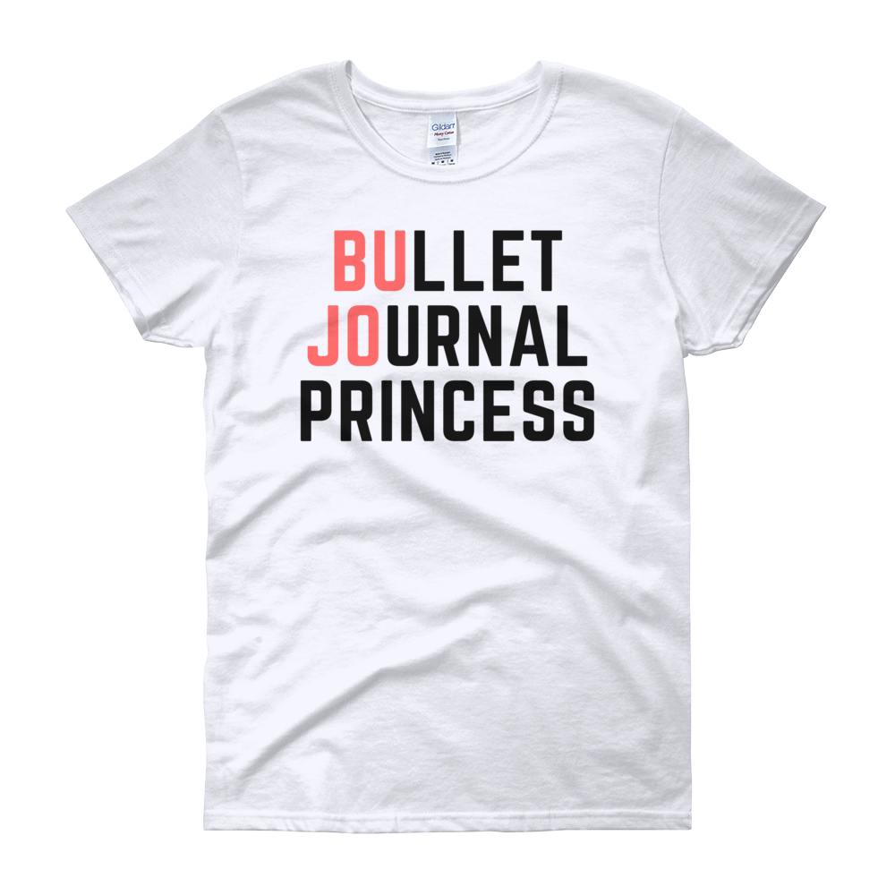 Bullet Journal Princess White