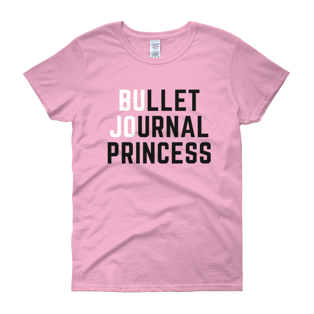 Bullet Journal Princess Shades Of Pink