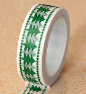 Christmas Tape for Scrapbooking, Journal, Stationary