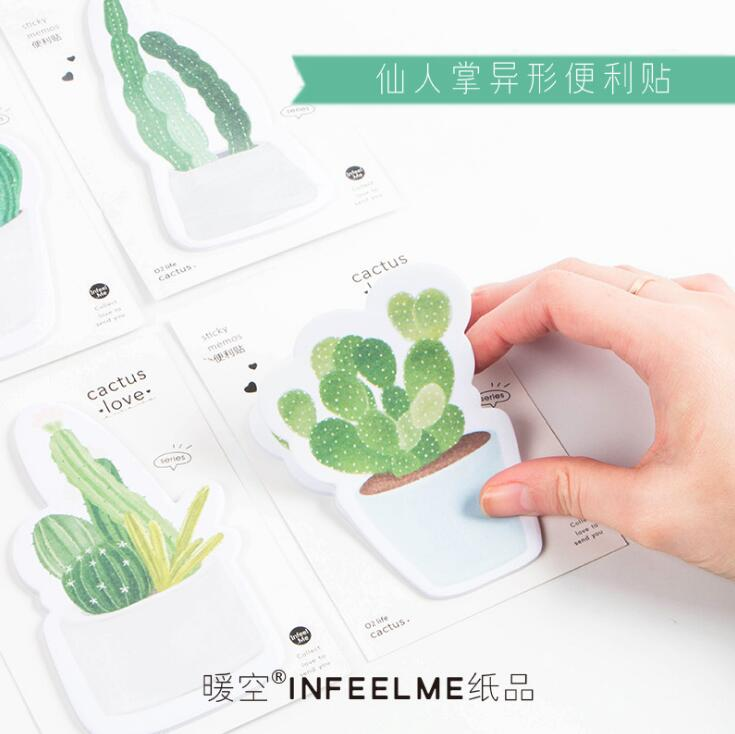 30 Pages Cactus Memo Pad