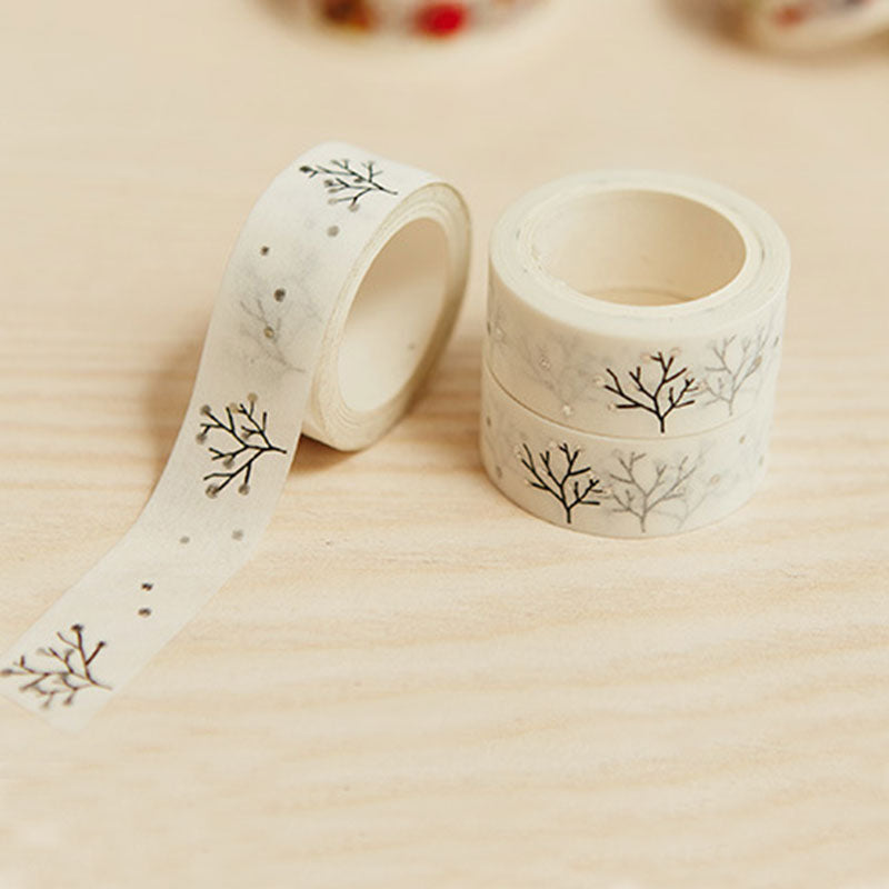 Wishing Gold Tree Premium Washi Tape
