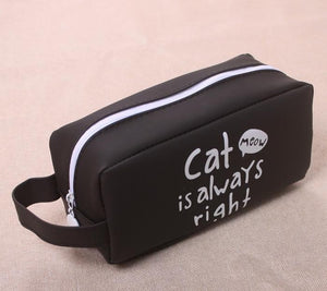 Trending Silicone Cat Pencil Case