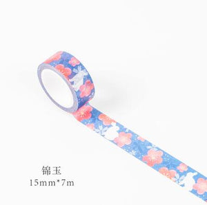 Kyoto Decoration Japanese Decorative Washi Tape For Scrapbooking, Bullet Journalism