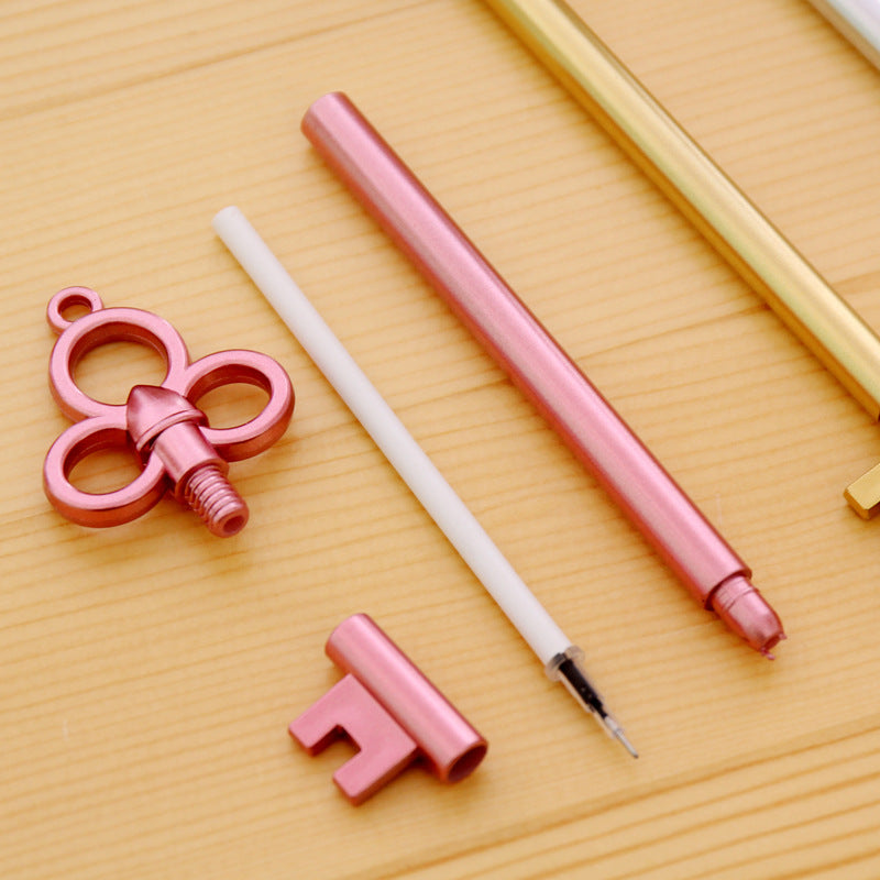 4 Pcs Kawaii Key Gel Pen