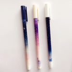 Galaxy Gel Pen| Long Handle