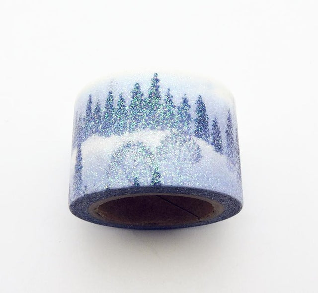 White Forrest Premium Washi Tape