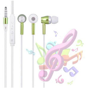 High Quality Metal Glow In The Dark Earphones