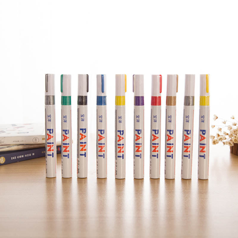 12 Colors Waterproof Marker