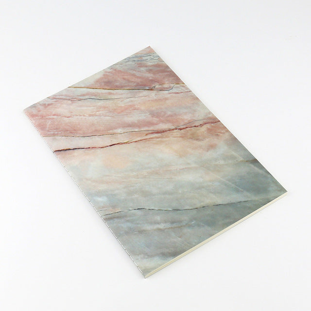 Japanese Marble Planner A5 Notebook  for Traveller's Journal