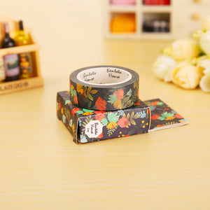 Blue Jungle Washi Tape
