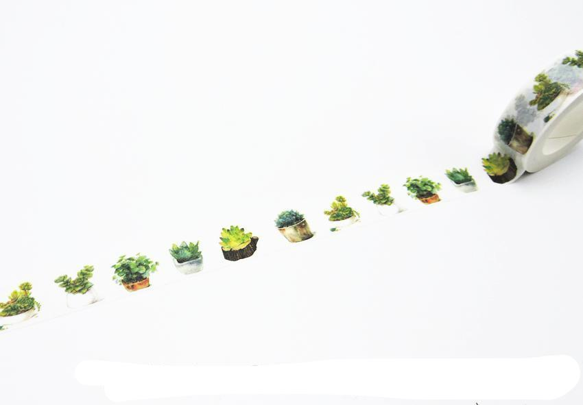 Plants Washi Tape