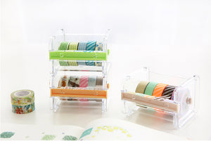 Washi Tape Storage-Cutter