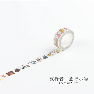 Travelling Student Washi Tape