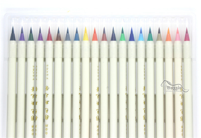 7 Colors Soft Brush Calligraphy Set